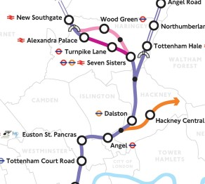 crossrail 2 route map pdf